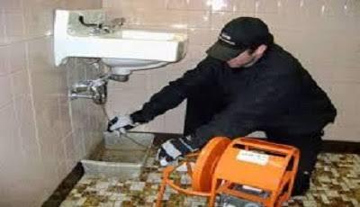 اختبار الصرف الصحي للحمامات بجدة