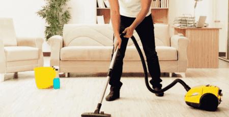 تنظيف السجاد من الغبار